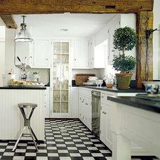 Eclectic  Kitchen Design: White Kitchens - - -