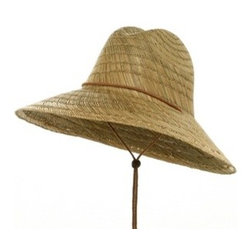 Safe Guard Straw Hat, Natural - Every avid gardener needs a good straw hat to shield their faces from the sun's rays. I love that this hat includes a chin strap, that way you're not spending your gardening time chasing your hat across the yard.