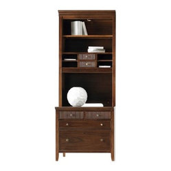 Stanley Hudson Street File Storage Chest and Hutch - Warm Cocoa - 712 ...