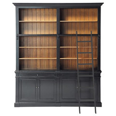 traditional bookcases cabinets and computer armoires by Maisons du Monde