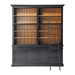 Versailles Bookcase - As a confessed bibliophile, a room full of built-in shelves filled with books is my dream. This gorgeous bookshelf that looks like a family heirloom would be the next best thing. Bonus: It comes with the ladder!