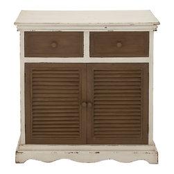 Distinctively Cool and Unique Wood Cabinet - Description:
