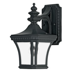 Quoizel Lighting - Quoizel Lighting DE8407K Devon 1 Light 12 5 Outdoor Wall Sconce - Adorn your outdoor dcor with this medium sized classically styled wall sconce.