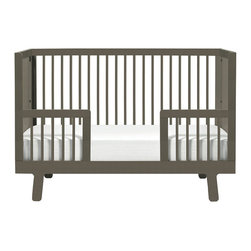 Oeuf - Oeuf Sparrow Conversion Kit (Crib Not Included), Grey - Conversion kit for the grey sparrow crib.