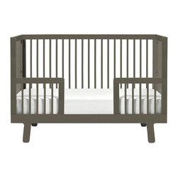Oeuf - Oeuf Sparrow Conversion Kit (Crib Not Included), Grey - Conversion kit for the grey sparrow crib.