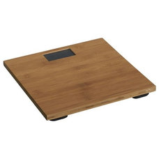 asian bath and spa accessories Bamboo Digital Bath Scale