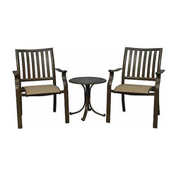 Panama Jack Island Breeze 3-Piece Balcony Set