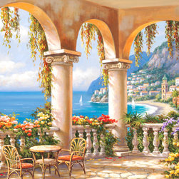 Murals Your Way - Terrace Arch 1 Vinyl Wall Decal, Wall Art - Terrace Arch 1 Vinyl Wall Decal wil be a great addition to any room in your home or business