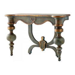 Joshua Marshal - Antiquarian Blue Lacroix Console Table - Antiquarian Blue Lacroix Console Table