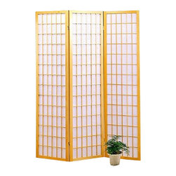 Coaster - Coaster Three Panel Screen Room Divider in Natural - Coaster - Room Dividers - 4621 - The Coaster Collection of folding screens are a simple elegant way to divide a room. Room dividers are great for dorm rooms bedrooms and other areas that need dividing or privacy solutions - also useful for creating separate spaces in a shared home office. Add instant decor and privacy to your home with this beautiful floor screen from Coaster.