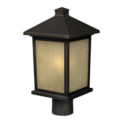 Z-Lite - 507PHB-ORB Holbrook Outdoor Post Light - 507PHB-ORB Holbrook Outdoor Post Light