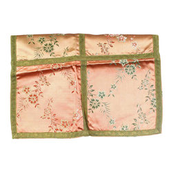 EuroLux Home - Consigned Vintage French Table Runner Doily Peachy - Product Details