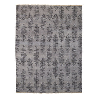 Aspen rug in Ash - Both sophisticated and contemporary, the Aspen rug takes inspiration from nature and creates an elegant pattern for any room.