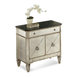 Basett Mirror - Borghese Small Mirrored Chest - Borghese Small Mirrored Chest. 30 x 17 x 29