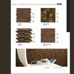Mosaic Wood Tile By MLH Tile -