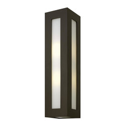 Hinkley - Hinkley Dorian One Light Bronze Outdoor Wall Light - 2195BZ-GU24 - This One Light Outdoor Wall Light is part of the Dorian Collection and has a Bronze Finish. It is Outdoor Capable.