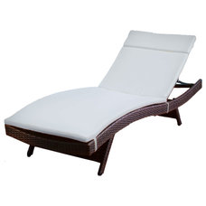 Beach Style Outdoor Chaise Lounges by Great Deal Furniture
