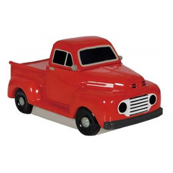 Westland - 5.5 Inch Ford F-1 1940's Truck Kitchenware Decor Cookie Jar - Red - This gorgeous 5.5 Inch Ford F-1 1940's Truck Kitchenware Decor Cookie Jar - Red has the finest details and highest quality you will find anywhere! 5.5 Inch Ford F-1 1940's Truck Kitchenware Decor Cookie Jar - Red is truly remarkable.