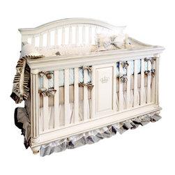 "Cambas & co. Royalty Crib - Dimension: Width: 34 Depth: 59"" Height: 46"