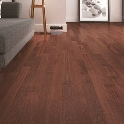 Triangulo Exotic Flooring - ENGINEERED HARDWOOD FLOORING - BRAZILIAN CHERRY (ROYAL JATOBÁ) - (ENGBC51/4R)