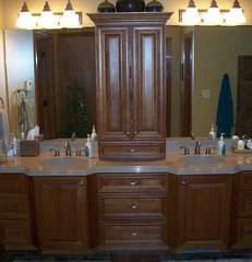 traditional bathroom by Volkman Kitchen and Bath