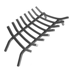 "Landmann - 3/4"" Steel Grate 30"" 8 Bars - -Solid and durable, the Fire Place grates are made from solid square bar steel which is 33% heavier than products made of round steel"