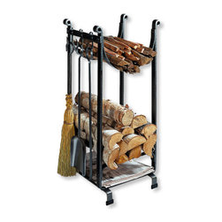 Hearthside Wood Rack - What's better than a warm crackling fire on a cold winter's night? With this classically designed wood rack, you'll never have to wonder.