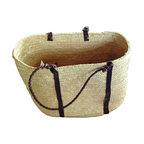 Handwoven Palm Basket - Handwoven Palm Basket