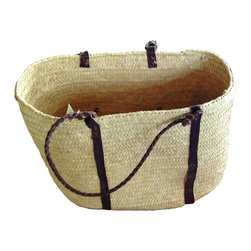 Handwoven Palm Basket - Handwoven Palm Basket