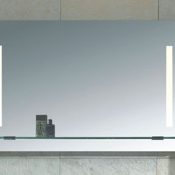 Mirror with Integrated Lighting - Napoli -