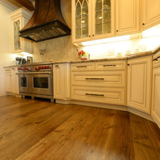 Traditional Kitchen by San Jose Hardwood Floors