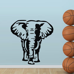 ColorfulHall Co., LTD - Wall Decals for Kids Elephant Jungle Animals - Wall Decals for Kids Elephant Jungle Animals