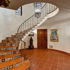 Mediterranean Staircase by Tirage Fine Art Gallery