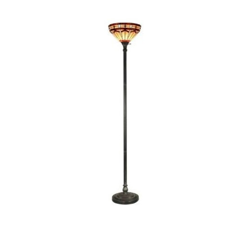 Dale Tiffany - Bronze Floor Lamp: Jewel Mission 71 in. Floor Lamp STR11010 - Shop for Lighting & Fans at The Home Depot. Today, Springdale Lighting builds upon a long tradition of artistically designed Tiffany home decor. With an easy to use turn knob that will light up your one-of-a-kind 14 in. diameter art glass shade. The perfect 71in. Torchiere Lamp for your redecorating project is waiting right here for you. With so many combinations of door to choose from, this Tiffany Jewel Mission Collection Torchiere Lamp will be a prize addition to any home or office.