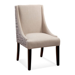 Bassett Mirror Company - Bassett Mirror Parson Chair in Natural Linen [Set of 2] - Parson Chair in Natural Linen belongs to Parson Chair Collection by Bassett Mirror Company The Parsons Chair is constructed using solid hardwood and durable natural linen. Parson Chair (2)