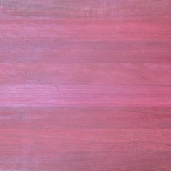 Purpleheart Exotic Hardwood Flooring - This exotic South American wood comes in an unforgettable eggplant-purple hue. With excellent rot and insect resistance and a high hardness rating, this species provides a unique splash of color that lasts.