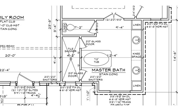 Gallery For Master Bath Layout Dimensions