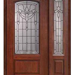 """Prehung Side light Door 80 Fiberglass Palacio Arch Lite Glass - SKU#MCR06195_DFAP1-1BrandGlassCraftDoor TypeExteriorManufacturer CollectionArch Lite Entry DoorsDoor ModelPalacioDoor MaterialFiberglassWoodgrainVeneerPrice3545Door Size Options32"""" + 14""""[3'-10""""]  $032"""" + 12""""[3'-8""""]  $036"""" + 14""""[4'-2""""]  $036"""" + 12""""[4'-0""""]  $0Core TypeDoor StyleDoor Lite StyleArch LiteDoor Panel Style1 PanelHome Style MatchingDoor ConstructionPrehanging OptionsPrehungPrehung ConfigurationDoor with One SideliteDoor Thickness (Inches)1.75Glass Thickness (Inches)Glass TypeDouble GlazedGlass CamingBlackGlass FeaturesTempered glassGlass StyleGlass TextureGlass ObscurityDoor FeaturesDoor ApprovalsEnergy Star , TCEQ , Wind-load Rated , AMD , NFRC-IG , IRC , NFRC-Safety GlassDoor FinishesDoor AccessoriesWeight (lbs)418Crating Size25"""" (w)x 108"""" (l)x 52"""" (h)Lead TimeSlab Doors: 7 Business DaysPrehung:14 Business DaysPrefinished, PreHung:21 Business DaysWarrantyFive (5) years limited warranty for the Fiberglass FinishThree (3) years limited warranty for MasterGrain Door Panel"""