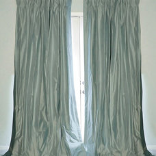 Traditional Curtains by Drea Custom Designs