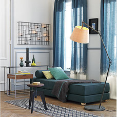 lubi turquoise sleeper daybed | CB2