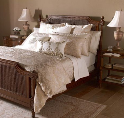 modern bedding by Ethan Allen