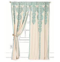 mediterranean curtains by Anthropologie