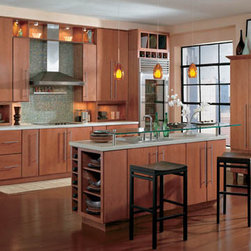 Kitchens by Wellborn Cabinet, Inc. - Milan Oak, Nutmeg Java