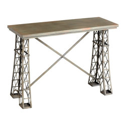 Cyan Design - Cyan Design 42x16 Inch Vallis Console Table - 42x16 Inch Vallis Console Table
