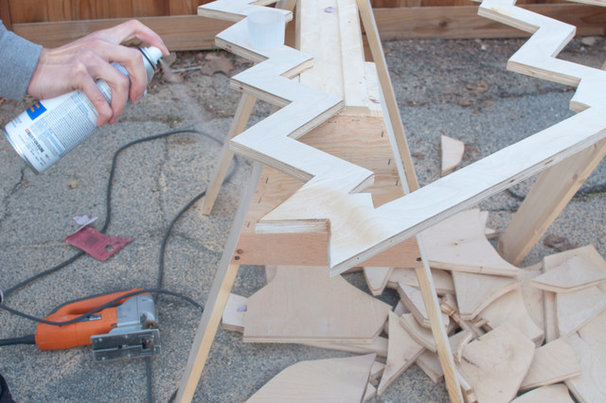 010.DIY Plywood Tree