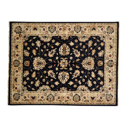 Peshawar Oriental Rug, 5' X 7' Hand Knotted 100% Wool Natural Dyes Rug SH12564 - Hand Knotted Oushak & Peshawar Rugs are highly demanded by interior designers.  They are known for their soft & subtle appearance.  They are composed of 100% hand spun wool as well as natural & vegetable dyes. The whole color concept of these rugs is earth tones.