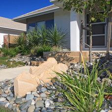 Mediterranean Landscape Mossvale Housing - Wakerley, Brisbane.