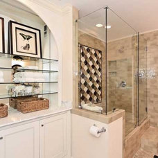 Traditional Bathroom by LAKE NORMAN MARBLE & GRANITE