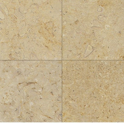 Belgian Truffles Limestone - 2cm slab polished, leathered