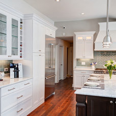 Transitional Kitchen by Designers Point